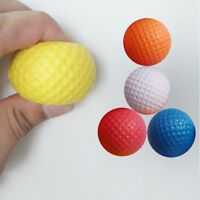Golf Ball Exercise Stress Relief Squeeze Elastic Soft Foam Ball Jc