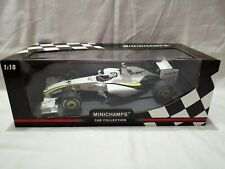 MINICHAMPS RUBENS BARRICHELLO BRAWN GP BGP 001 2009 F1 CAR 1:18 FORMULA ONE
