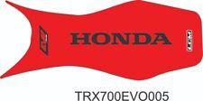 seat cover honda TRX700 TRX700XX gripper Red & Black ultragripp