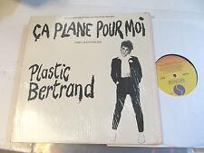 Plastic Bertrand Ca Plane Pour Moi LP 1977 Sire SRK 6061 w/shrink RKM orig rare!