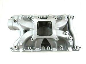 Small Block Ford 351W Alum. Airgap Intake Manifold 3000-7500 Satin E42459
