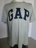 NWT Gap Men's T-Shirt Crew Neck Blue Short Sleeve Gap Logo XS S M L NEW