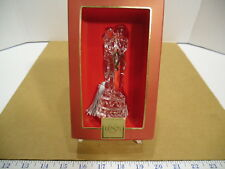 2006 Lenox Crystal Bride & Groom Couple Marriage Christmas Tree Ornament - Euc