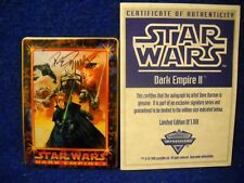 Autographed 1995 Star Wars Dark Empire Metallic Impressions Collector's Tin Set