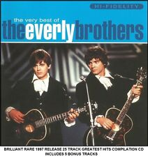 The Everly Brothers The Very Best Greatest Hits Collection RARE CD 50's 60's