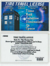 DOCTOR WHO Time Travel License
