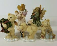 Boyds Bears 3 lil Wings Bears 2 Angels,Grace Angel of Hope /Angel of Life