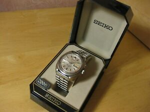 SEIKO BELL-MATIC 1970'S VINTAGE AUTOMATIC ALARM DAY DATE WATCH MODEL 4006-7001