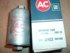 1967 68 69 Chevrolet corvette 427 nos gf432 fuel filter 5651480