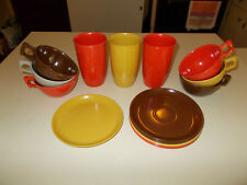 14 pc Spaulding Ware Melmac Dishes