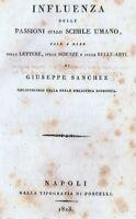 1823 - Scienze - Psicologia - Belle arti - Borbonica - legatura pregiata