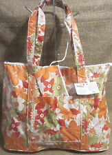 Mad By Design Shoulder Bag Faux Leather Hand Bag Tote And Coinpurse Floral NEW!