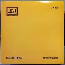 JOHNNY DOUGLAS heartstrings LP Mint- JW 431 Library Music UK 1981 Record