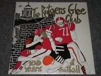 The Rutgers Glee Club~100 Years Of Football~RARE Choral~SEALED/NEW~FAST SHIPPING