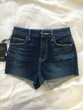 Bardot Dark Blue Denim Shorts Sz 7