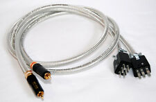 High-end Quad II amplifiers Interconnect cables Jones to RCA