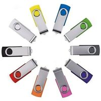 USB 2.0 Memoria Flash Stick Pen Drive Almacenamiento Thumb 64GB 32GB 16GB 8GB 4G