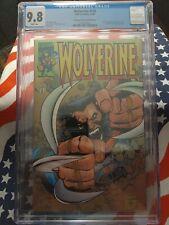 Wolverine Vol 1988 #145 Cgc 9.8  Dynamic Forces 1416 of 3000 adamantium return