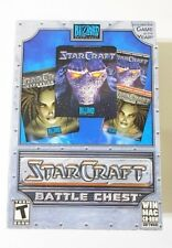 Blizzaard Starcraft Battle Chest New in Opened Box PC Mac with Strategy Guides