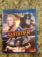 WWE: Summerslam 2015 (Blu-ray Disc, 2015)NEW Authentic US Release
