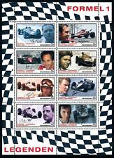 [76694] Austria 2007 Motorsport Formula 1 Hill Häkkinen Fittipaldi Sheet MNH