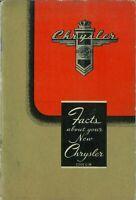 Bishko OEM Repair Maintenance Owner'S Manual Bound for Chrysler C-38 1946 - 1948