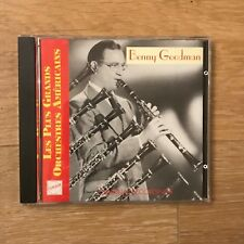 CD - Benny Goodman - Les Plus Grands Orchestres Américains - Label CD 6820