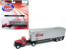 """CHEVROLET TRACTOR TRAILER TRUCK """"STRICKLAND"""" 1/87 (HO) CLASSIC METAL WORKS 31176"""