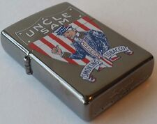 Zippo Uncle Sam Tobacco Prototype Ultra RARE Only 2 Prototypes Made.