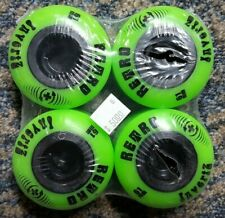 New Abec 11 Retro Invertz 61Mm 99A Park + Formula Skateboard Wheels New Set O 4