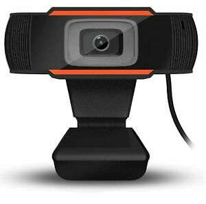 WEBCAM FULL HD 1280x720 PC MPX microfono skype smartworking video lezione chat