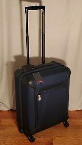 """NWT Tumi 22""""  Lightweight Continental Carry-on Luggage in Navy $595"""