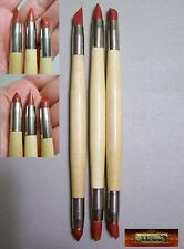 M00044 MOREZMORE Rubber Shapers Polymer Clay Doll Sculpting Wipe Out Tools