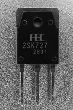 Fuji Electric 2SK727 K727 N-Channel Power MOSFET 900V 5A