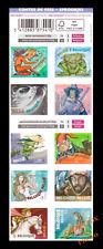 Carnet 10 timbres 50g autocollant Belgique Belgies CONTES de FEES Sprookjes neuf