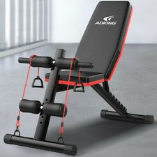Adjustable Weight Bench Strength Workout Dumbbell Bench for Full Body Exercise