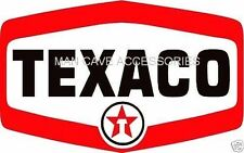 TEXACO Oil Co Gasoline Vinyl Decal Sticker 4386