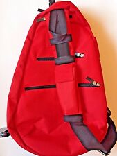 New TENNIS BAG RACKET BACKPACK SLING BAG Red