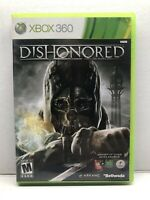 Dishonored (Microsoft Xbox 360, 2012) Complete w/ Manual - Tested Working