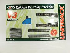 Brand New Kato Unitrack V3 Rail Yard Switching Track Set Set #20-862-1 #TOTES1