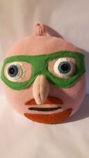 "Handmade soft toy, ""The Puzzler"", large 20cm x 20cm (numberjacks character)."