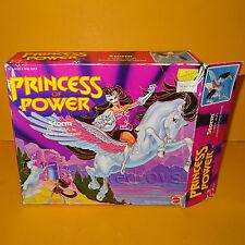 VINTAGE 1984 80s MATTEL SHE-RA SHERA PRINCESS OF POWER STORM CATRA'S HORSE BOXED