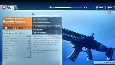 FORTNITE Xbox One NOCTURNO Assault Rifle LVL 30 Power level 82 Rare