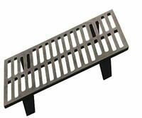 United States Stove Company US Stove G26 Small Cast Iron Grate for Logwood