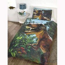 Design Jurassic T-rex Dinosaur Single Duvet Cover Set World