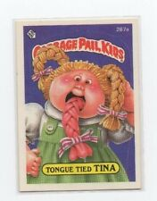 Tongue Tied Tina Garbage Pail Kids Card # 267 A   NEXT DAY SHIP AFTER PAYMENT