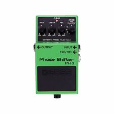 BOSS PH-3 Phase Shifter Tap Tempo Rate Filter Guitar Bass Effects Stompbox Pedal