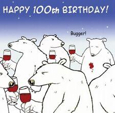 Funny Birthday Card -100th Birthday Card - Age 100 Card -Humour Card -Funny Card