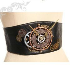 Gothic steampunk rqbl clockwork black belt