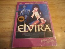 Elvira Mistress of the Dark (Blu-Ray/DVD, 3-Disc Mediabook, German Import, NEW)
